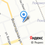 Троллейбусное депо №2 на карте Уфы