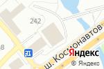 Схема проезда до компании Автозапчасти на Липовой в Перми