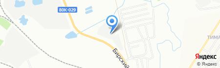 ПИАР на карте Уфы