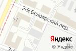 Схема проезда до компании РусОйлСнаб в Перми