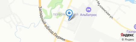 ФЛЭК на карте Перми
