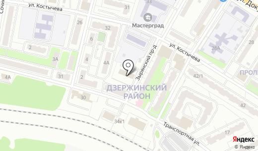 Фантастика. Схема проезда в Перми