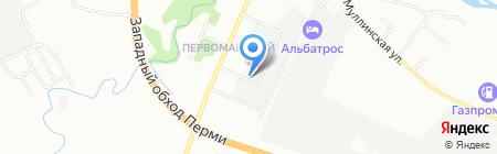 АНТИКОР59 на карте Перми