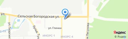 Ф1 на карте Уфы