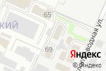 Схема проезда до компании Даглас-Люкс в Перми