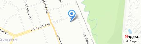 Детский сад №270 на карте Уфы