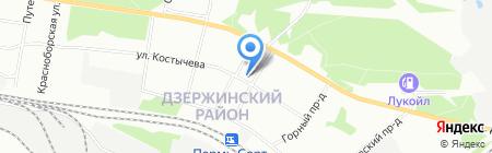 СмениКварти.ру на карте Перми
