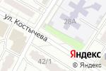 Схема проезда до компании Киоск по продаже мясной продукции в Перми