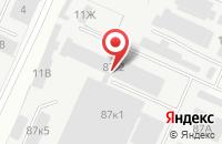 Схема проезда до компании М-Арт в Перми
