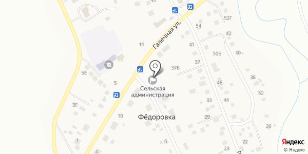 Почтовое отделение д. Федоровка. Схема проезда в Уфе