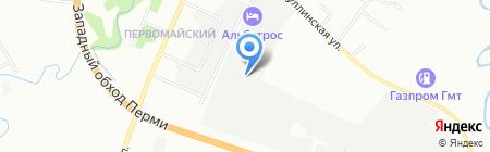 ПроектСборМонтаж на карте Перми
