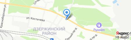 Детский сад №407 на карте Перми