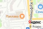 Схема проезда до компании Салон-ателье в Перми