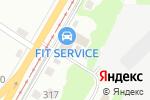 Схема проезда до компании Рысь в Перми