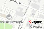 Схема проезда до компании Красава в Перми