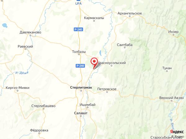 поселок Покровка на карте