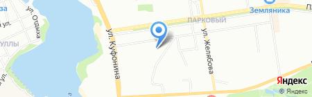 Средняя общеобразовательная школа №59 на карте Перми