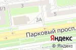 Схема проезда до компании БукетПермь в Перми