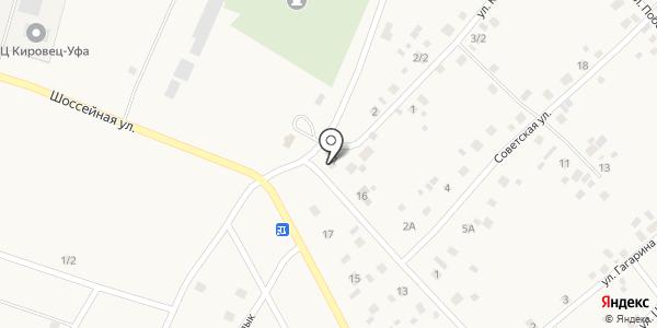 Автосервис. Схема проезда в Кабаково