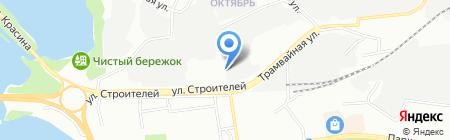 Электросвет на карте Перми