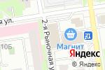 Схема проезда до компании МАРТ в Перми