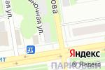 Схема проезда до компании Ангор в Перми