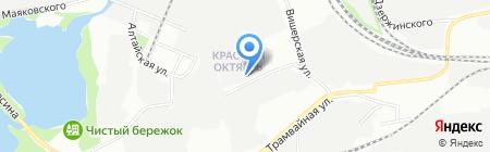 СП-КРОН на карте Перми