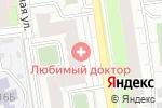Схема проезда до компании Отделка Пермь в Перми
