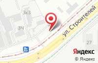 Схема проезда до компании Промарматура в Перми