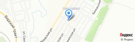 Детский сад №156 на карте Уфы