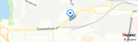 Гапа-Пермь на карте Перми