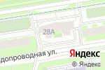 Схема проезда до компании КРИСТАЛЛ в Перми
