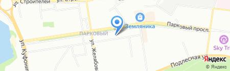 Автошкола Вираж на карте Перми