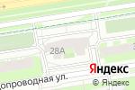 Схема проезда до компании Эксперт инжиниринг в Перми
