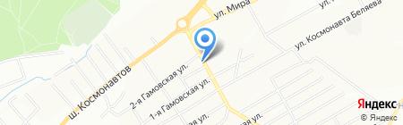 Нефтяник на карте Перми