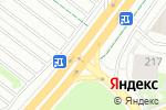 Схема проезда до компании Айс картинг в Перми
