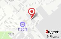 Схема проезда до компании Тоник - Сервис в Перми