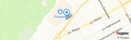 АСИКЗ-Противогазы на карте Перми