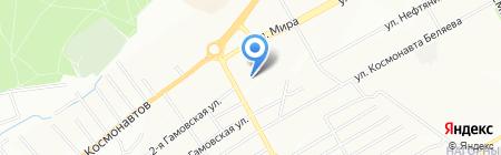 КРОШ на карте Перми