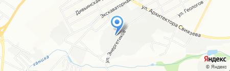 Пластрум на карте Перми