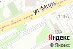 Схема проезда до компании Валерия в Перми