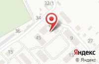 Схема проезда до компании КОМАРОВНЕТ в Кабаково