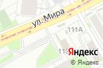 Схема проезда до компании Каскад Плюс в Перми