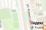 Схема проезда до компании Шпили-Вили в Перми