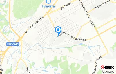 Местоположение на карте пункта техосмотра по адресу г Пермь, ул Энергетиков, д 39А