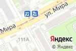 Схема проезда до компании Ростелеком в Перми