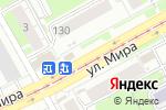 Схема проезда до компании FLORA SERVICE в Перми