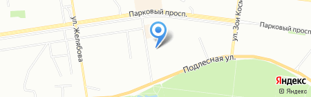 Пани Лена на карте Перми