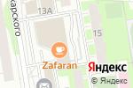 Схема проезда до компании Салон праздничного оформления в Перми