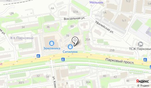 ДНС. Схема проезда в Перми